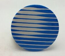 Vintage AT&T Pinback Pin Telecommunications Blue and White Globe Logo Telephone