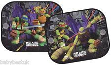 Nickelodeon Ninja Turtles Child Car Window UV Protection Mesh Sun Blind Shades 2
