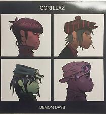 GORILLAZ - DEMON DAYS * LP CLEAR VINYL * FREE P&P UK * GDD0724387383814 * MINT *
