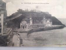 CPA GRANDVILLE le Bassin Et Le Normandy Hôtel