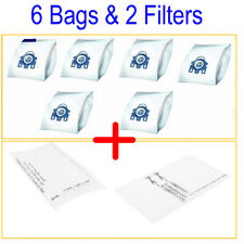 6X Vacuum Cleaner Bags For Miele GN G/N Blue 3D Type Fits Cat n dog  S5311 5000