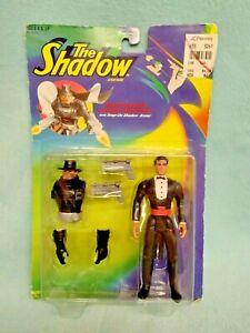 💙 Vintage THE SHADOW Transforming Lamont Cranston w Snap On Shadow Armor MOC