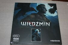 WITCHER PUZZLE REGIS NEW COLLECTION SERIES 1 NEW SEALED