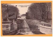 SAINT-YRIEIX (87) CHATEAU du MAS / Entrée avec PORTAIL en fer forgé début 1900