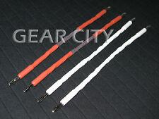 ckc20 Bi-Wire Speaker Jumper Cable OFC 8 Multi-Core Banana Spade Plug HiFi