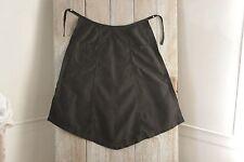 Vintage French Apron c1920's kitchen textile black cotton Kitchen textile