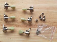 Sets 6  epiphone Guitar String Tuners jade Tuning Pegs Machine Heads  3R+3L