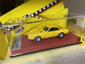1/43 BBR Ferrari 365 GTC Yellow S/N 12239 #11/20 n MR AMR BRAND NEW & SOLD OUT
