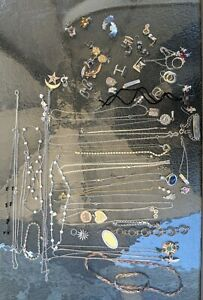 VTG Lot High End Wearable Sterling Silver Jewelry 385 Grams, No Scrap All Types