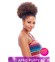 """Vanessa Synthetic Drawstring Hairpiece Afro Puff 10"""" Express Curl Puffy Ponytail"""