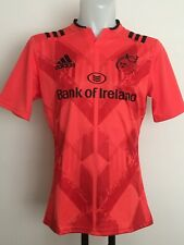 MUNSTER RUGBY 2015-16 S/S TRAINING JERSEY BY ADIDAS SIZE MEN'S LARGE BRAND NEW