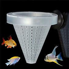 Aquarium Red Worm Feeder Cone Feeding Live Frozen Brine Shrimp Fish Food 1PC
