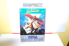 Ax Battler - a Legend of Golden Axe Sega Game Gear