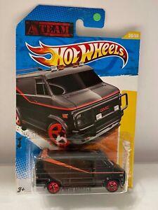 Hot Wheels A Team Van GMC 2011 New Models From Movie *Black* 1/64