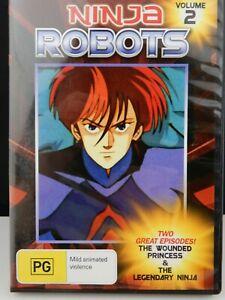 Ninja Robots Volume 2 DVD Anime Wounded Princess / Legendary Ninja