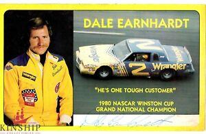 Dale Earnhardt Sr signed 6x9 Color Photo JSA COA Vintage Auto Nascar Rare B645