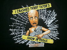 2XL TERRY FATOR SHIRT Ventriloquist Impressionist Comedian Mirage Las Vegas XXL