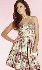 Womens strapless floral dress from New York laundry size 10