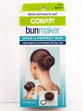 CONAIR BUN MAKER - 6 PIECE KIT (55583)