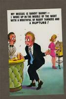Bamforth Comic Black Triangle Fruit Machine / Barman no.20 Postcard new q7