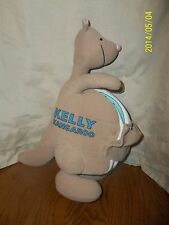 Kelly Kangaroo Cloth Plush Soft Book Baby's First Book Club 12""