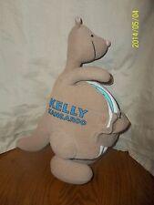 "Kelly Kangaroo Cloth Plush Soft Book Baby's First Book Club 12"""