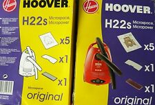 H22S HOOVER 10 sacs pour aspirateur MICROSPACE MICROPOWER