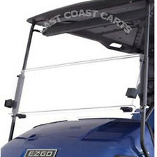EZGO TXT 1995'-2013 Golf Cart Fold Down Windshield CLEAR (FAST FREE SHIPPING)
