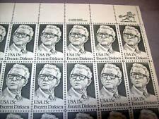 USA stamps 1980 Mint Pane of 50 Dirksen scott # 1874 USA 15cent stamp sheet