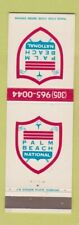 New listing Matchbook Cover - Palm Beach National Golf Course