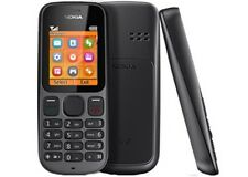 BLACK NOKIA 100 MOBILE PHONE-ON TESCO NETWORK WITH NEW HOUSE CHARGER & WARRANTY