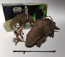 SANDTROOPER & DEWBACK Star Wars Power of the Force POTF Action Figure COMPLETE