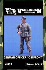 Verlinden 120mm German Officer Ostfront Resin Figure Model Kit #815