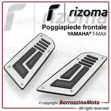 RIZOMA ZYF011A POGGIAPIEDI SUPERIORI FRONTALI PEDANE YAMAHA T-MAX TMAX 530 2015