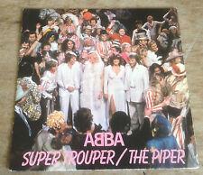 ABBA super trouper*the piper 1980 DUTCH EPIC PS 45