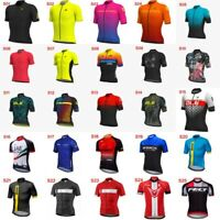 2019 New Mens Bicycle Breathable Bike Clothing Cycling short sleeve Jersey E58