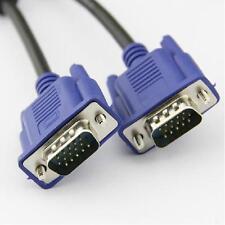 15 pines VGA SVGA Macho a Macho M/M M-M Monitor Cable de extensión plomo 1.5 M 150 Cm