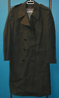 Used Canadian military coat size 6539 ( 18 short ) for woman  (refg5#bte190)