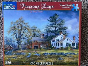 1000 Piece Jigsaw Puzzle Landscape House Farmhouse Barn