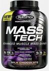 MuscleTech Mass-Tech Gainer 3180g Whey Protein Carbs BCAA Glutamine Egg +Freebie