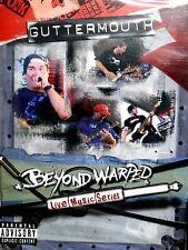 Guttermouth - Beyond Warped: Live Music Series DVD,NEW! LIVE CONCERT ,2004