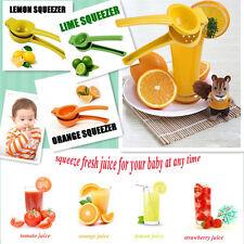 Kitchen Hand Held Manual Orange Citrus Lime Lemon Fruit Juice Maker Squeezer