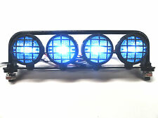 Apex RC Products Rock Crawler / SC Truck Steel Roll Bar W/ 4 LED's Axial #9003