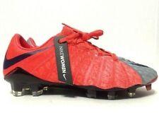 Nike Hypervenom Phantom III ACC FG Soccer Cleats Red Womens 881543-058 Size 6.5M