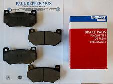 MG MGF/ MG TF Trophy 160 Front Brake Pad Set (Genuine Unipart) (SFP000310)