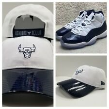 New Era Chicago Bulls 9Twenty Curve Dad hat for Jordan 11 Midnight Navy