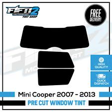 BMW Mini Cooper 2007-2013 Pre Cut Professional Rear Window Tint Kit