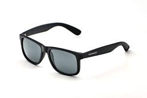 ORIGINAL TORGOVE® Wayfarer Sonnenbrille - UV400 - Retro Vintage - Matt-Schwarz