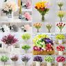 1PC Artificial Fake Peony Rose Flower Bridal Hydrangea Home Wedding Garden Decor