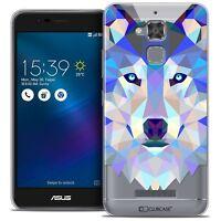 """Coque Housse Etui Pour Asus Zenfone 3 Max ZC520TL (5.2"""") Polygon Animal Souple F"""